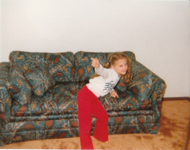 Sometimes your kid is disco dancing.