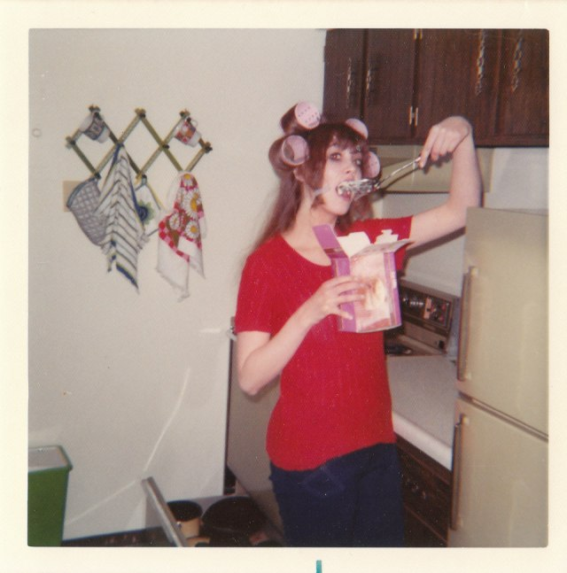 And every night you eventually get a chance to relax. Sometimes that means eating ice cream out of the carton with a spatula while the curlers set in your hair.