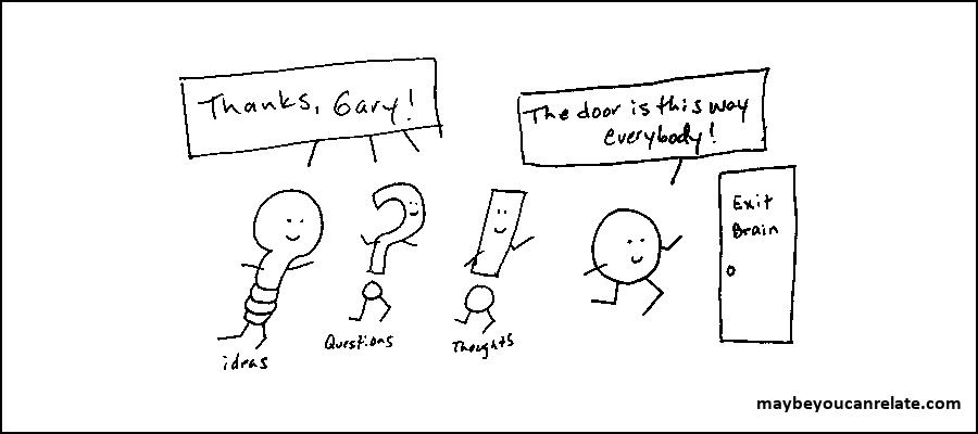 Gary leads the way!