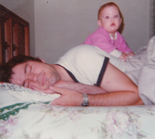 My favorite picture of my dad and me.