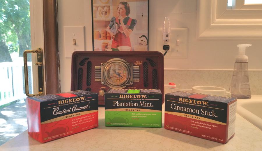 boxes of tea